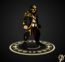 Golden Assasin Of The Seven Continent by oznplt