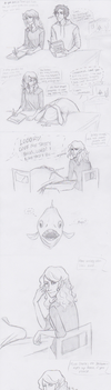 Percy Jackson-- Class Pet by Golden-Flute