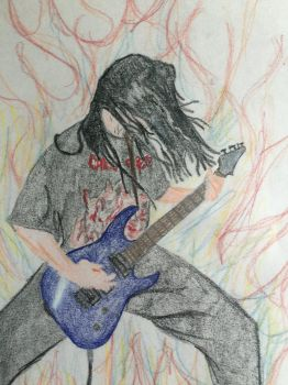 Self playing guitar by angrybuddhist