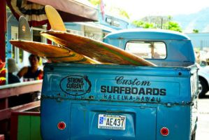 Custom Surfboards truck by Florence333