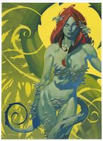 Poison Ivy painting by ChristopherStevens
