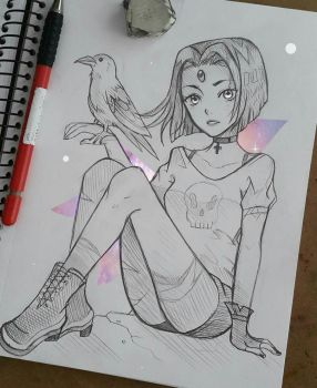 +Casual Raven+ by larienne
