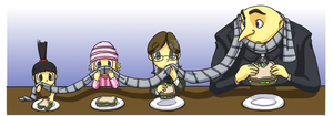 Despicable Me: Lunchtime by forte-girl7
