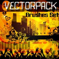 Vectorpack __ brushes set by solenero73
