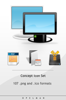 Concept Icon Set by opelman