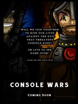 CONSOLE WARS - Preview 1 by Hoshikko
