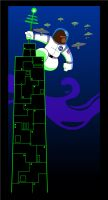 King Kong in Space by rebel-penguin