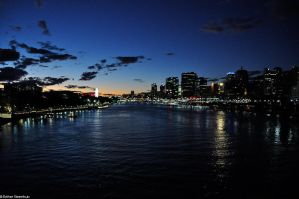 Brisbane river by dont-u-know