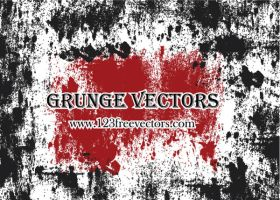Grunge Free vectors by 123freevectors