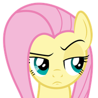 Fluttershy Face by liamwhite1