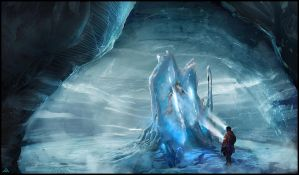 Under the ice by jamga