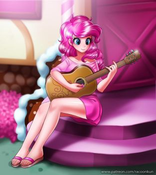 Guitar Lesson by RacoonKun