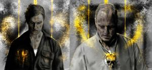 True Detective : Rust Cohle and Martin Hart vol3 by p1xer