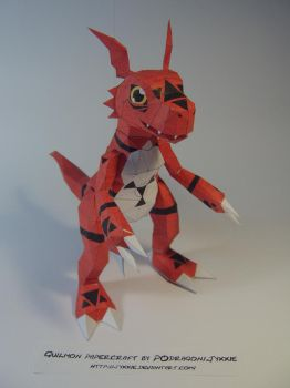 Guilmon papercraft by WaChuLeRuXx