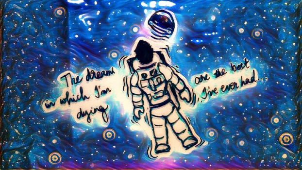 It's A Mad World-Lost Astronaut,Psychedelic Space by ashhishnocturne