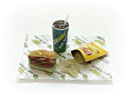 Subway Sandwich Meal #1 by minivenger