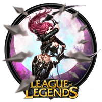 League of Legends 'Katarina' Dock Icon by OutlawNinja