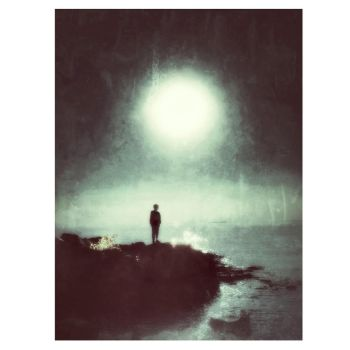 The Midnight Sun And The Falling Stars by intao