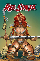 Red Sonja by ThaKIDHimself