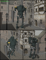 Moriarty's puppet. Sketchup. WIP by raskayu77