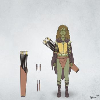 Chani's Clothes and Weapons by karchew