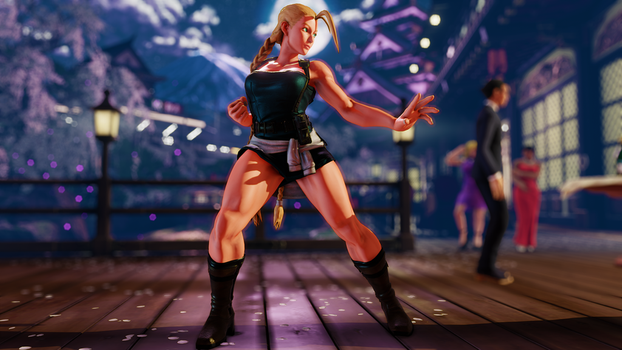 Cammy Jill (WIP 05) by BrutalAce