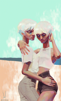 Twins by SolDevia