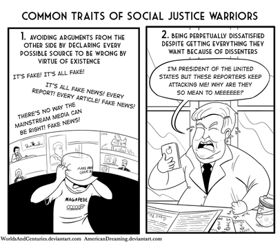 Common Traits of SJWs by AmericanDreaming