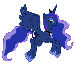 Luna. Just Luna. by Pinkiemina