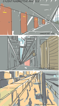 2 point perspective practice by Frost7
