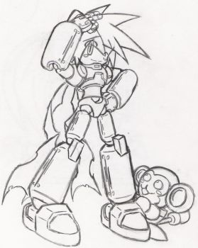 MegaMan, Reporting for Duty by Twilight-SunZero