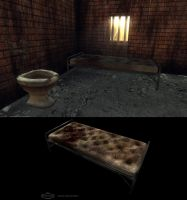 Prison bed by FredrikH