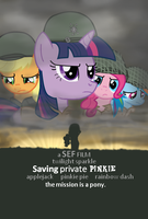 Saving Private Pinkie by Sefling