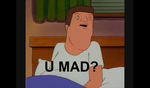Hank Hill U Mad? by EonCooper