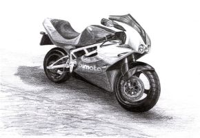 Bimota by DragonTreasureArt