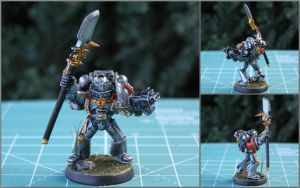 Ionnis the Grey Knight by WKucza
