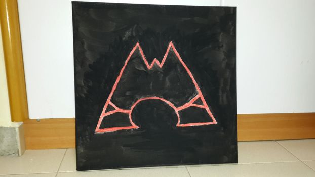 Team Magma Logo on Canvas by CHARIZARD205