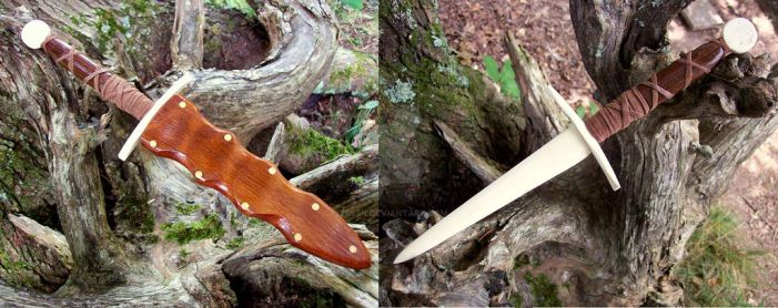 Knife210 A classic Athame Dagger Pattern by Ysssk