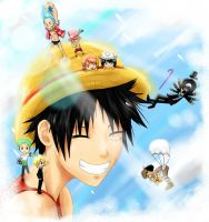 One Piece: Precious Nakama by Fran-Scythe