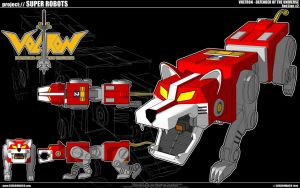 Voltron - Red Lion by cosedimarco
