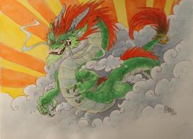 Another dragon by maryarts