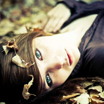 autumn in hair. by anny-more