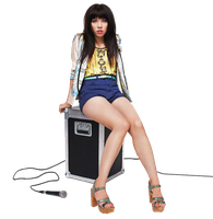 Carly Rae Jepsen PNG HQ by ValeVelez-222