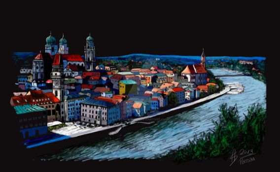 Passau by LIVEyourDR3AM