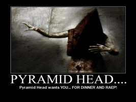 P-Head Motivational Poster. by boykingkilla