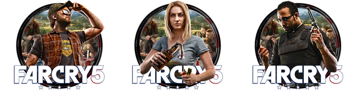 Far Cry 5 Icon Pack by OutlawNinja