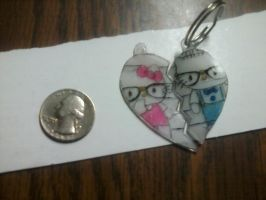hello kitty 2 pc commission by aliciamarie923
