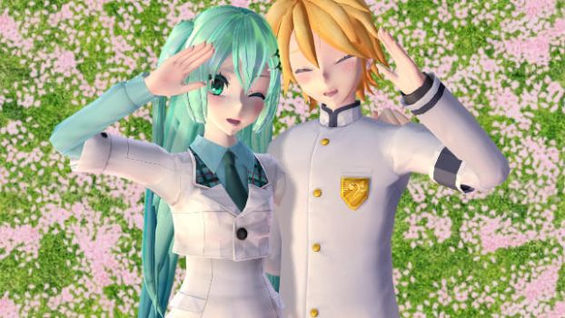 [MMD]Happy Synthersizer-LenMiku(PV Already done) by SheepyAries