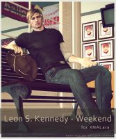 Leon S Kennedy - Weekend - for XNALara by raccooncitizen