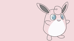 Vector Wallpaper | Wigglytuff | Pokemon by Blugo34
